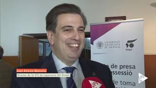 Download Juan Antonio Monsoriu toma posesión como director de la ETSID-UPV - Noticia @UPVTV, 16-01-2019 Video