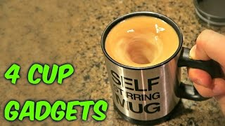 Download 4 Cup Gadgets Test Video