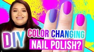 Download DIY COLOR-CHANGING Nail Polish?!! Makeup Mythbusters w/ Karina Garcia & MayraTouchOfGlam Video