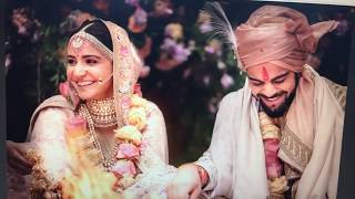Download Virat WEDS Anushka First Pictures Of Virushka Marriage In Italy | Sports Tak Video