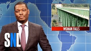 Download Weekend Update on Woman's Selfie Accident - SNL Video