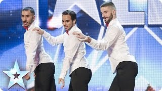 Download Yanis Marshall, Arnaud and Mehdi in their high heels spice up the stage | Britain's Got Talent 2014 Video