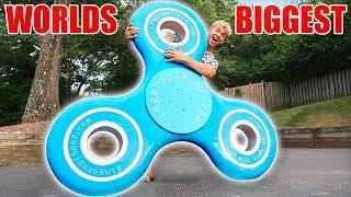 Download WORLDS BIGGEST FIDGET SPINNER!! Video