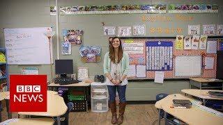 Download Oklahoma teacher strike: 'I have 29 textbooks for 87 pupils' - BBC News Video