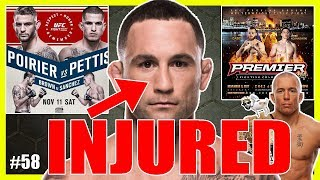 Download 🔴 FRANKIE EDGAR OUT OF UFC 218! WHAT'S NEXT FOR GSP? POIRIER VS PETTIS / PREMIER FC 24 Video