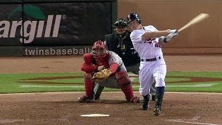 Download LAA@MIN: Dozier singles for first Major League hit Video