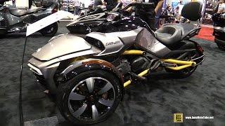 Download 2017 Can Am Spyder F3 S - Walkaround - 2016 AIMExpo Orlando Video