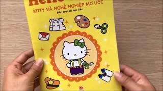 Download Đồ chơi DÁN HÌNH MÈO HELLO KITTY & KỂ CHUYỆN nghề nghiệp mơ ước của Kitty Toys for Kids (Chim Xinh) Video