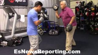 Download Mikey Garcia and Big G working - EsNews Boxing Video