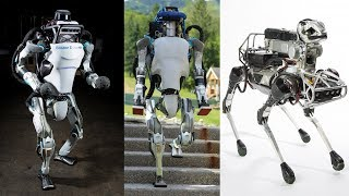 Download 9 Advanced Robots From Boston Dynamics Will Change The Jobs Of Humans || Boston Dynamics Robot Video