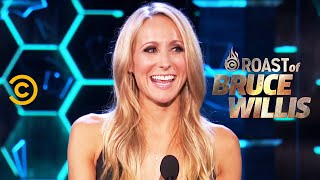 """Download Nikki Glaser on Meeting Dennis Rodman and """"Fight Club"""" - Roast of Bruce Willis - Uncensored Video"""