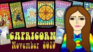 Download Tarot psychic reading CAPRICORN NOVEMBER 2019 Something is popping! Tarot psychic Video