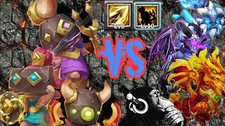 Download Rowdy rascals | Zealous Drive | VS 15 Maxed Beasts | Castle Clash Video