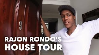 Download Rajon Rondo's house tour Video