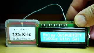 Download SIMPLE RFID PCB 125KHz READER KIT WITH LCD - NO ARDUINO IN SIGHT ! Video