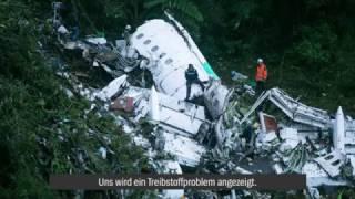Download Funkverkehr vor Flugzeugabsturz: ″Uns wird ein Treibstoffproblem angezeigt″ Video