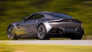 Download 2018 Aston Martin Vantage - Official Photos / Tungsten Silver Video