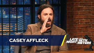 Download Casey Affleck Doesn't Like Doing Boston Accents Video