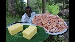 Download 15 KG Butter CHICKEN Recipe prepared by my Daddy ARUMUGAM / Village food factory Video