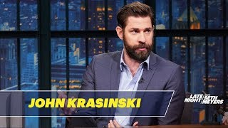Download John Krasinski Couldn't Believe Stephen King's Reaction to A Quiet Place Video