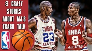 Download 8 Crazy stories about Michael Jordan's trash talk that proves he's a savage Video