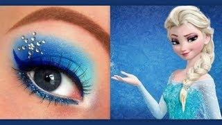 Download Disney's Frozen: Elsa makeup tutorial Video