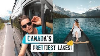 Download Final ROAD TRIP DAY! - Lake Louise & Emerald, CANADA'S PRETTIEST LAKES! (Banff National Park) Video