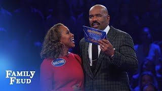 Download The Harveys play Fast Money! | Celebrity Family Feud Video