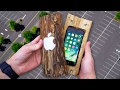 Download Can a Hand-Carved Log Protect iPhone 7 from 100 FT Drop Test? - GizmoSlip Video