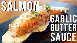 Download Salmon with Garlic Butter Sauce by SAM THE COOKING GUY Video