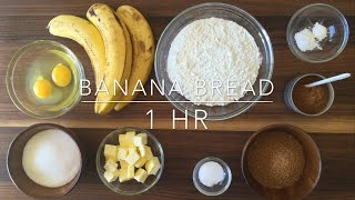 Download The Best Moist & Chewy Banana Bread Recipe Ever! Video