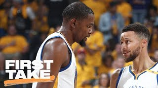 Download Kevin Durant And Steph Curry: Best NBA Duo Ever? | First Take | June 5, 2017 Video