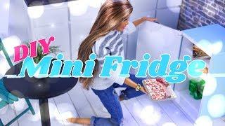 Download DIY - How to Make: Doll Mini Fridge | Frosty Freezer | Pizza | Baking Soda & more Video