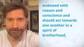 Download UDHR Video Article 1 English GWA Nikolaj Coster Waldau Video