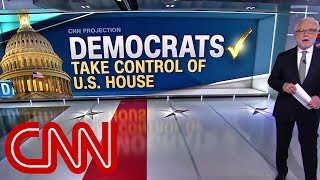 Download Democrats take control of House, CNN projects | Midterm elections Video