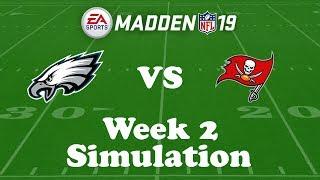 Download Madden NFL 19 Week 2 Simulation: Eagles @ Buccaneers Video