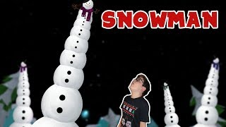 Download I made a giant snowman :) Video