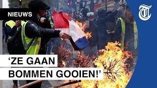 Download Plunderingen en vernielingen bij protesten in Parijs Video
