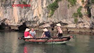 Download Halong Bay Cruise, Vietnam - HD Video
