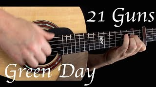 Download Kelly Valleau - 21 Guns (Green Day) - Fingerstyle Guitar Video