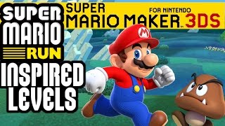 Download SUPER MARIO RUN INSPIRED LEVELS IN 🍄SUPER MARIO MAKER FOR NINTENDO 3DS!🍄 Video