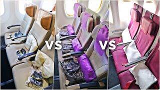 Download EMIRATES vs ETIHAD vs QATAR Economy Class | Which Airline Is Best?! | Economy Week Video