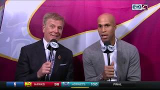 Download Cavaliers' Richard Jefferson relives an upset Tyronn Lue's early timeout call Video