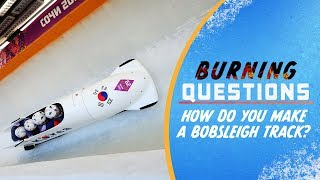 Download How do you make a Bobsleigh track? | Burning Questions Video