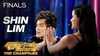 Download DON'T BLINK! Shin Lim Performs Epic Magic With Melissa Fumero - America's Got Talent: The Champions Video