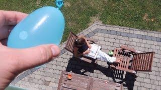 Download Falling Water Balloon Prank Video