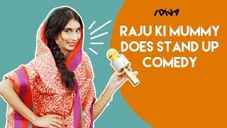Download iDIVA - Raju Ki Mummy Does Stand-Up Comedy | Mazedar Mrs. Raju Ki Mummy Video