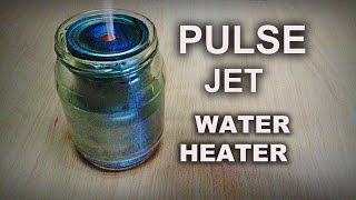 Download Boiling Water with a Tin Can Pulse Jet! Video