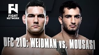 Download UFC 210: Chris Weidman vs. Gegard Mousasi in Buffalo, New York Video
