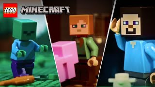 Download LEGO Stop Motion Animation Compilation - LEGO Minecraft - Funny Video 2017, 2018, 2019 Video